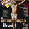 Neymar é crucificado em capa de revista