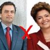 Sensus indica segundo turno; Dilma cai, Aécio sobe