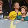 'Não vou me deixar perturbar por ofensas verbais', diz Dilma sobre vaias na abertura da Copa
