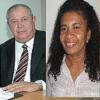 Aliados Timóteo Brito e Erlita Freitas terão que dividir o mesmo palanque nas eleições de 2014