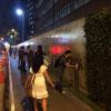 Prédio da editora Abril é pichado durante protesto contra revista 'Veja'