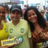ACM Neto e Paulo Souto fazem campanha para Aécio Neves em Teixeira de Freitas