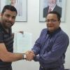 Prefeito Bernardo Olívio recebe, em Salvador, títulos de propriedade que regularizam áreas da sede de Alcobaça