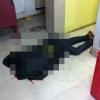 Bandidos metralham cabeleireiro; circuito interno registra tudo