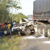 Cenas fortes: Imagens mostram mortos e feridos em engavetamento na BR-101 na Bahia