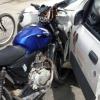 Teixeira: Após assalto criminosos batem em carro, abandona moto e fogem com arma em punho