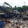 Após quase 20h, rodovia onde carreta e caminhão explodiram é liberada em Teixeira de Freitas