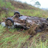 Motorista de carro morre após bater de frente com caminhão na BR-101