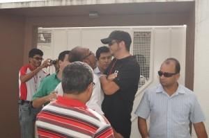 Jornalista sendo ameaçado por Secretario de Segurança e Cidadania de Teixeira de Freitas.