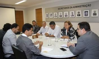 Agenda do CDL e do Sindcomércio na Secretaria de Administração da Bahia - FOTO Divulgação